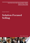 Solution Focused Selling