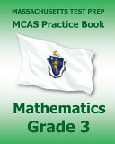 Massachusetts Test Prep Prep Mcas Practice Book Mathematics  Grade 3