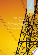Energy Security in Europe