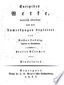Euripides Werke  metrisch   bers  u  mit Anm  begleitet von Gustav Ludwig