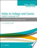 English Language Arts  Grade 7 Module 1 Teacher Guide