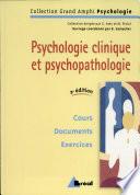 illustration du livre Psychologie clinique et psychopathologie