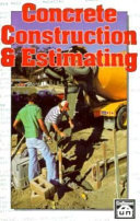 Concrete Construction   Estimating