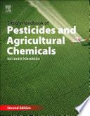 Sittig S Handbook Of Pesticides And Agricultural Chemicals