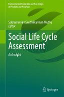 download ebook social life cycle assessment pdf epub
