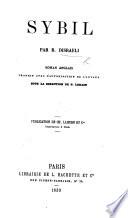 Sybil ... Roman anglais traduit avec l'autorisation de l'auteur sous la direction de P. Lorain