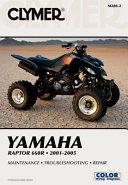 Yamaha Raptor 660r 2001 2005