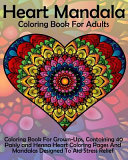 Heart Mandala Coloring Book for Adults