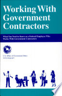 Working With Government Contractors