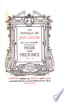 The Novels of Jane Austen  Pride and prejudice