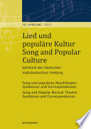 Lied und populäre Kultur - Song and Popular Culture 58 (2013)