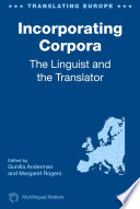 Incorporating Corpora Book PDF