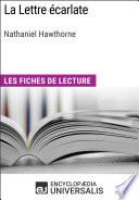 La Lettre   carlate de Nathaniel Hawthorne