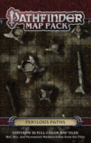 Pathfinder Map Pack - Perilous Paths : full-color 5 x 8-inch map tiles,...