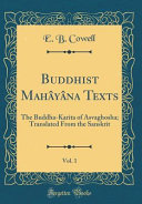 Buddhist Mahayana Texts, Vol. 1