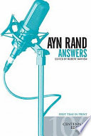Ayn Rand Answers  The Best of Her Q   A