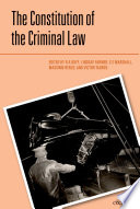 The Constitution of the Criminal Law