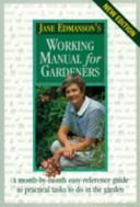 Jane Edmanson s Working Manual for Gardeners