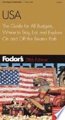 Fodor's USA, 28th Edition