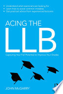 Acing the LLB
