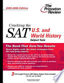 Cracking The Sat U S And World History Subject Tests