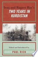 Iraq and Rupert Hay s Two Years in Kurdistan