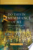 Do this in Remembrance of Me Book PDF