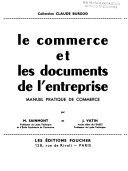 Le commerce et les documents de l enterprise