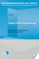 Supply Chain Finanzierung