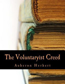 The Voluntaryist Creed