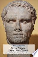 Cicero Philippic 2 44 50 78 92 100 119