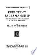Efficient Salesmanship
