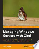 Managing Windows Servers with Chef