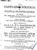 El emperador pol  tico y Pol  tica de emperadores