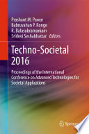 Techno Societal 2016
