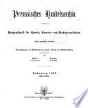 Handels-Archiv
