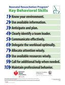 Neonatal Resuscitation Program Behavioral Skills Poster