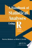 A Handbook of Statistical Analyses using R  Third Edition