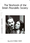 The Yearbook of the British Pirandello Society