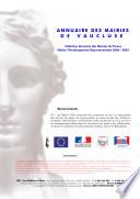 Annuaire des Mairies de Vaucluse (84)