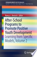 After School Programs to Promote Positive Youth Development