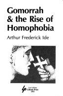 Gomorrah   the rise of homophobia