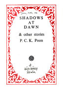 Shadows at dawn & other stories