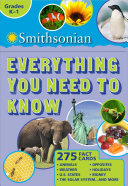 Smithsonian Everything You Need to Know  Grades K 1