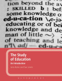 The Study of Education  An Introduction