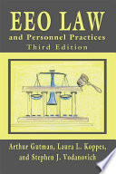 EEO Law and Personnel Practices  Third Edition