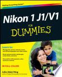 Nikon 1 J1 V1 For Dummies