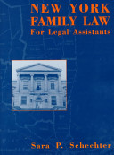 New York Family Law for Legal Assistants