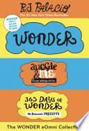 The Wonder eOmni Collection  Wonder  Auggie   Me  365 Days of Wonder
