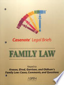 Family Law  Keyed to Krause  Elrod  Garrison   Oldham